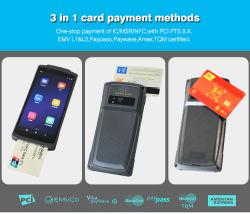 Logistique POS Pocket Smart Android Terminal avec lecteur de carte NFC et scanner de code QR