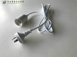 Австралия SAA утверждения патрон лампы E14 E27 с 303 на переключатель лампы соли вставить вилку кабеля питания переменного тока
