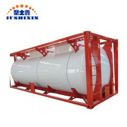 20FT T11 Container van de Tank van de Opslag ISO van het Water van de V.N. van het Roestvrij staal de Draagbare