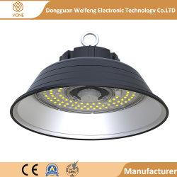 5 indicatore luminoso della baia dell'alluminio 150W LED della garanzia di anno l'alto per il magazzino acquista 2019