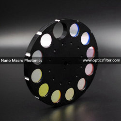 Sicherheits-Überwachung-optischer Teilbandpaßfilter 855nm kundengerecht