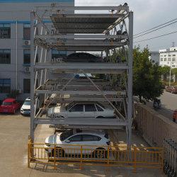 Mehrschichtiges Anheben-Schiebendes mechanisches Parkhaus-Gerät