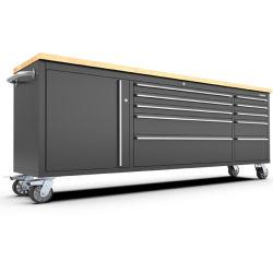 24 de 84 pulgadas Kinbox cajones Metal Armario de almacenamiento de herramientas para taller