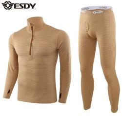Multi-Colors Nouvelle Armée Outdoor Sports sous-vêtements Sous-vêtement thermique costume en molleton tactique