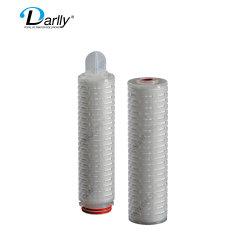 Filtro de PTFE de filtro de cartucho de 5 mícrons de sedimentos da membrana do filtro Millipore membrana de pregas 02 Um sistema de tratamento de água e filtrar produtos farmacêuticos Watertreatment