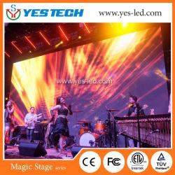 Haute luminosité P5.9 Energy Saving Location Piscine plein écran LED de couleur pour l'étape/publicité