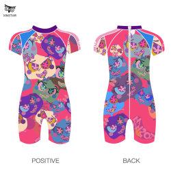 I capretti dello Swimwear della sirena che nuotano i bikini hanno impostato due parti delle neonate del vestito di bagno