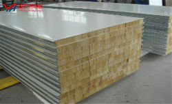 Prefabricados de bajo coste de la partición de la casa prefabricada de pared techo con aislamiento de las placas de pared tipo sándwich EPS