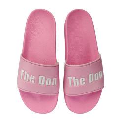 Pantoffels van de Manier van het Ontwerp van het Schoeisel van de Dia's van de douane de Nieuwe, de Mooie niet Geweven Pantoffel van Dames, de Goedkope Pantoffels van de Dia's van de Manier van Dames Duidelijke