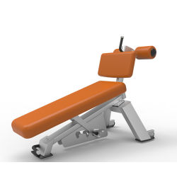 Equipamento de Ginásio Fitness Nautilus /Banco abdominal ajustável