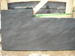 Naturel noir de l'Ardoise pour revêtement mural/décoration de jardin/toiture Z forme/matériaux de construction