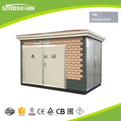 Ybw 100kVA vervaardigde ondergronds het Compacte Geprefabriceerde Hulpkantoor van het Hulpkantoor Yb