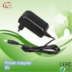 alimentazione elettrica dell'adattatore di potere dell'adattatore di corsa di 12V 1A AC/DC Wallmount CCTV/LCD /Medical /LED