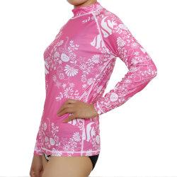 Sublimation gedruckte Bikini Bathingsuit einteilige Schwimmen-Klagen für Dame Swimwear