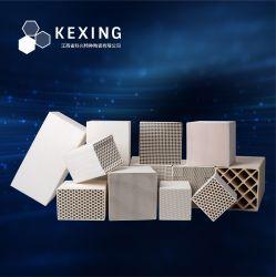 A alumina, a cordierite, a mulite, monólito de cerâmica favo de corindo artificial, Trocador de Calor, regenerador, substrato para o RTO, OCR