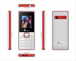 Bandas de quádrupla GSM 2g 1,8 polegadas Teclado de baixo preço telemóveis