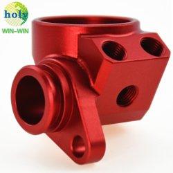 La aviación de precisión de mecanizado CNC de aluminio anodizado el componente