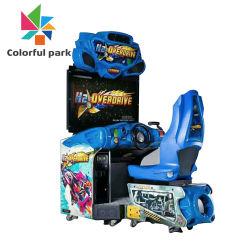 Parc coloré Machine de jeu de voiture de course Coin exploité Machine de jeu de voiture de conduite