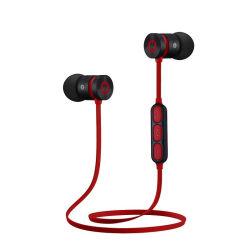 Earbuds met Waterdichte Magneten MP3 slaat de Draadloze Hoofdtelefoon van de Oortelefoons van de Hoofdtelefoon van Earpods van het Metaal van de Luchtvaart Bluetooth Stereo