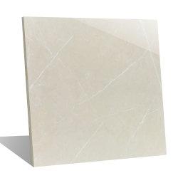 600x600mm Interior de la piedra de mármol blanco natural de la pared de cocina Material de construcción de porcelana pulida Baldosa Cerámica