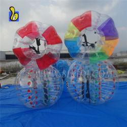 Venta caliente cuerpo pelota de fútbol de la burbuja de paragolpes para adultos