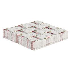 Drôle de Noël personnalisée 2 plis serviette en papier