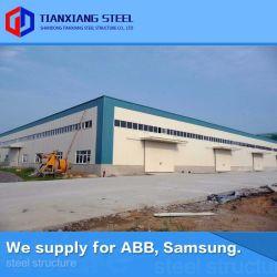 Высокое качество предварительно созданный сборные модульные стальной каркас кузова сегменте панельного домостроения металлический склад здание