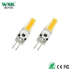 G4 G9 de 1,5 W Bombilla LED,180lm, AC/DC 12V Las bombillas de luz equivalente a 20W halógena,Blanco luminoso 6000K,Non-Dimmable,el ahorro de energía LED lámparas de araña, el Courtyard