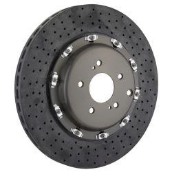 Il freno automatico parte il disco di rotore di ceramica di Dilled del disco del freno del carbonio per Nissan R35 Gtr Ferrari Porsche BMW il M3 M4 Audi R8