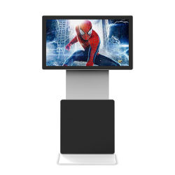 55 Inch Unique Design Rotate Lcd Touchscreen Digital Signage Totem Advertising Monitor Player