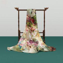 Usine de qualité supérieure en mousseline de soie imprimés numérique directe à l'écharpe