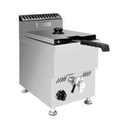 Venda a quente Henny Penny Frango frito aberto gás fritadeira para venda 25L*2 Painel de controle do computador