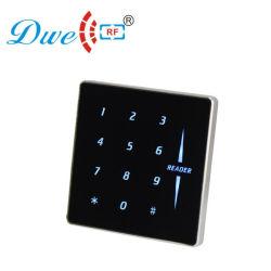 شاشة تعمل باللمس مزودة ببطاقة Wiegand بسرعة 13.56 ميجاهرتز مزودة ببطاقة من الذاكرة وذاكرة قراءة البطاقات الذكية قارئ RFID لمفتاح الإضاءة الخلفية