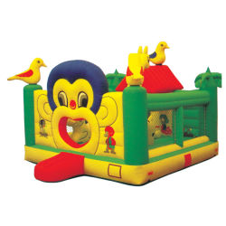 ブロア(TY-41231)を持つ猿の主題の膨脹可能な警備員