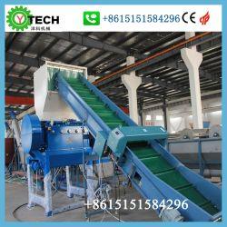 쇄석기 기계 낭비 플라스틱 재생 기계를 재생하는 사용된 폐기물 플레스틱 필름 병