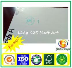 105g C1s Kunst-überzogenes Papier