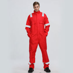 Segurança Vermelha Industrial da fábrica de uniformes dos trabalhadores em geral