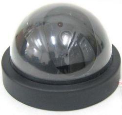 El Falso simulacro de Flash LED rojo de la seguridad falsa cámara CCTV Domo