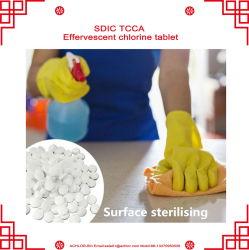 TCCA SDICの沸騰性の塩素のタブレット