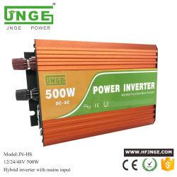 完全な欠陥の保護500W 24VDC (JN-H-24-500)の純粋な正弦波力インバーター