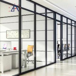 Divisorio insonorizzato dell'ufficio del blocco per grafici di alluminio di alta qualità 85mm Thicknees