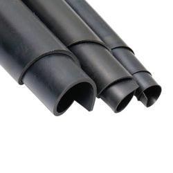 Impression lisse tissu industriel SBR recyclés NBR Cr en caoutchouc vulcanisé feuille EPDM