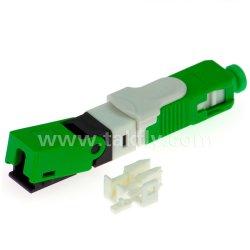 FTTH SC/APC connecteur rapide du connecteur mécanique SC à fibre optique