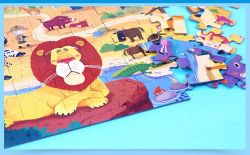 De aangepaste Puzzel van Educational 23PCS voor Kids Indoor Game