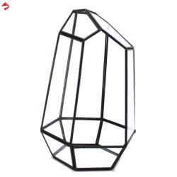 Verre en gros titulaire de carte de mariage boîte cadeau pour lanterne moderne Décoration de table