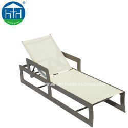Nieuwste Design Aluminium Ligstoel Outdoor Meubilair Met Mesh Stof