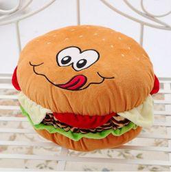 La hamburguesa de peluche Peluche Cojin Almohada