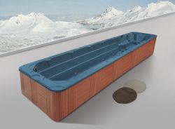 옥외 온천장 Jacuzzi (M-3326)가 Monalisa에 의하여 10.6m 오래 수영한다 수영장