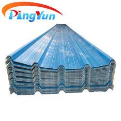 반대로 부식 Prefabricated 집을%s 열에 의하여 격리되는 ASA PVC 물결 모양 UPVC 지붕 장