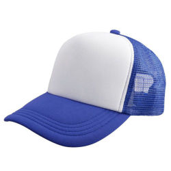 Dri passende blaue Baseballmützen/Hüte (A923)